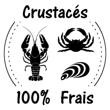 Sticker crustacés