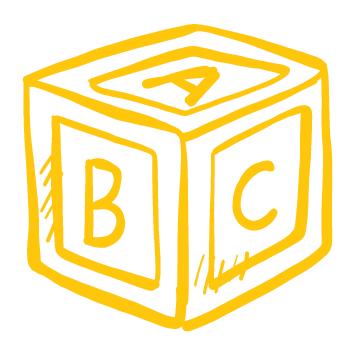 Sticker cube éveil