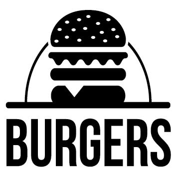 Sticker Hamburger