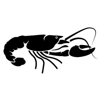 Sticker homard de Bretagne