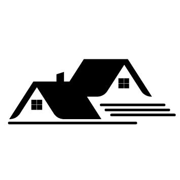 Sticker logo maison - BAT03