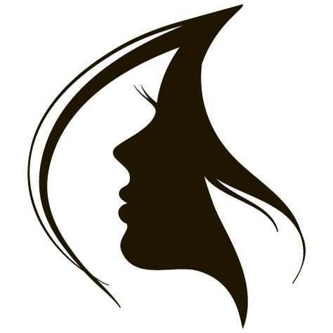 Sticker mèche coiffure : SDC038
