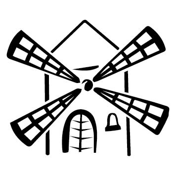 Sticker moulin