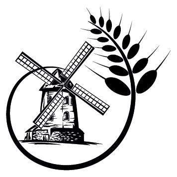 Sticker moulin à vent