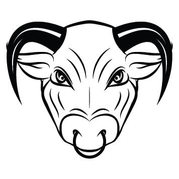 Sticker signe taureau AST06
