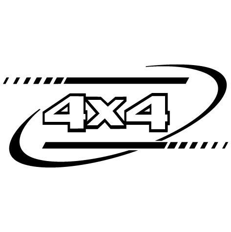Sticker sport 4x4