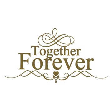 Sticker together forever