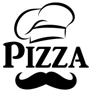 Sticker toque et moustache PI19