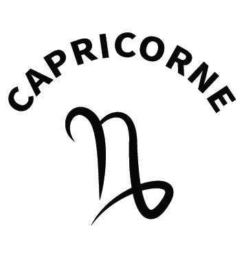 Sticker zodiaque capricorne AST11