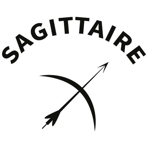 Sticker zodiaque sagittaire AST15