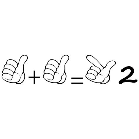Sticker apprendre à compter 2