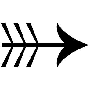 Sticker flèche : SF03