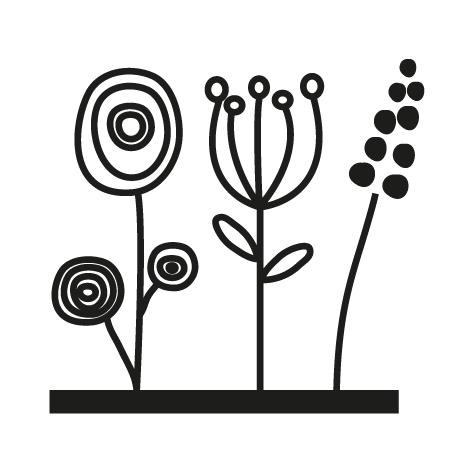 Sticker fleuriste : 05