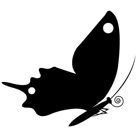 Sticker papillon : 03