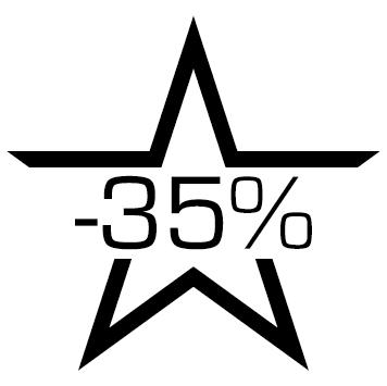 Sticker soldes : 35%