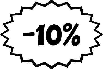 Achat Sticker remise -10%