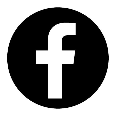 Autocollant rond Facebook