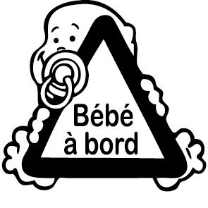 Achat Sticker Bébé à Bord