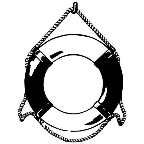 Sticker bouée marine