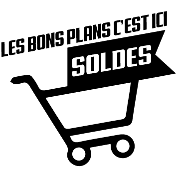 Stickers soldes chariot
