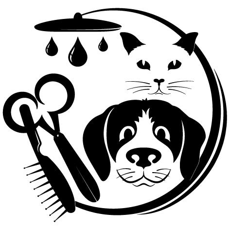 Chien et chat douche