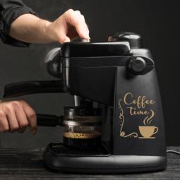 Sticker coffee time