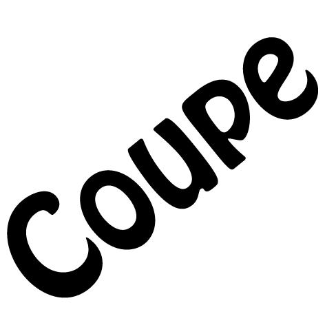 Sticker lettres coupe : SDC008