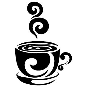 Achat Sticker tasse à café : 004