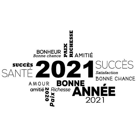 Sticker jeux de lettres 2021