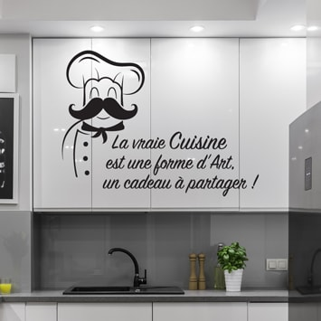 Sticker dicton cuisine