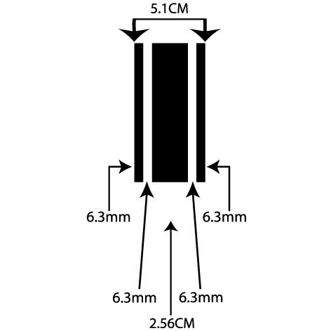 Achat liseret adhésif 5.10CM