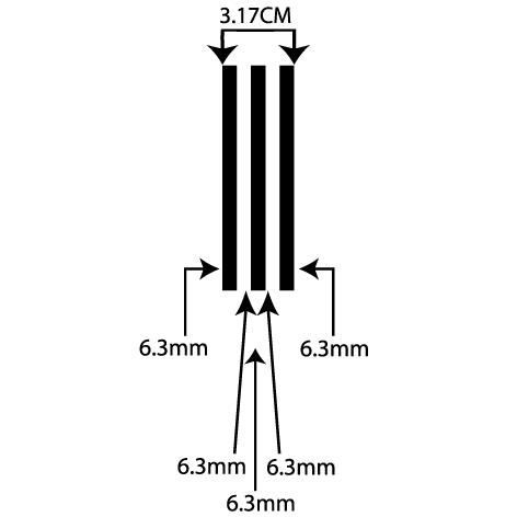 Achat liseret autocollant 3.17CM