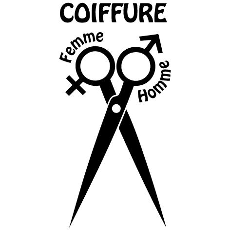 image logo coiffure. Black Bedroom Furniture Sets. Home Design Ideas