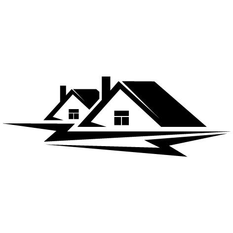 Sticker logo maison : SLM01