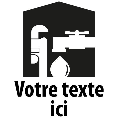 Logo plombier : 01