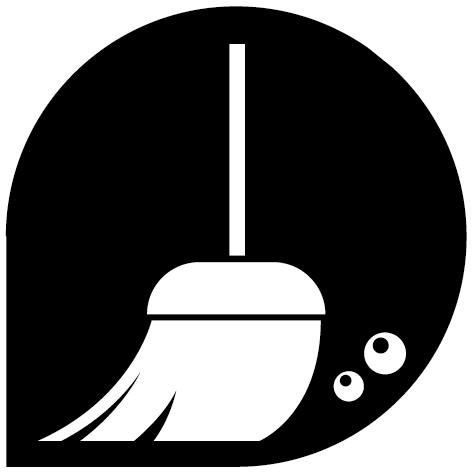 Logo balai nettoyage NET23