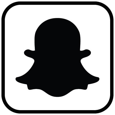 logo snapchat avec contour