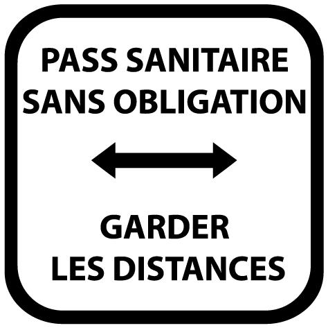 Pass sanitaire sans obligation