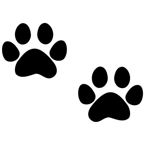 Sticker pattes de chat
