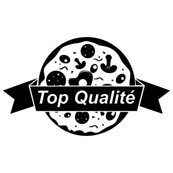 Sticker pizza top qualité