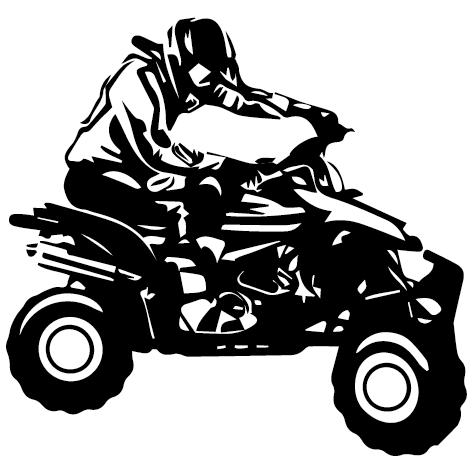 Autocollants quad
