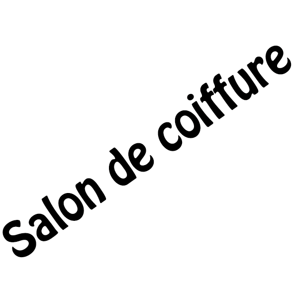 Stickers vitrine salon de coiffure ultra r sistant for Achat salon de coiffure