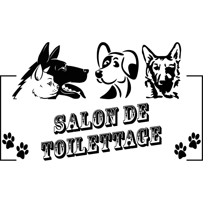 Sticker salon de toilettage