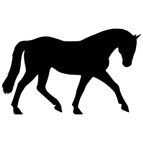Achat Sticker silhouette - 1