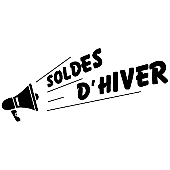 Achat Sticker solde d'hiver
