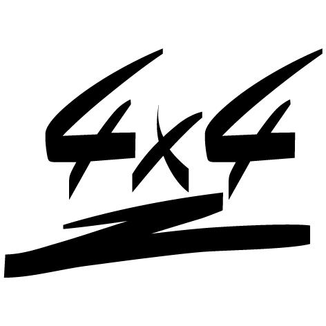 Achat Sticker 4x4 : 06