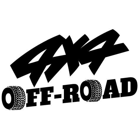 Achat Sticker 4x4 Off Road : 001