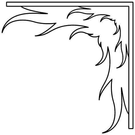 Achat Sticker angle : 153