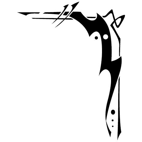 Achat Sticker angle : 157