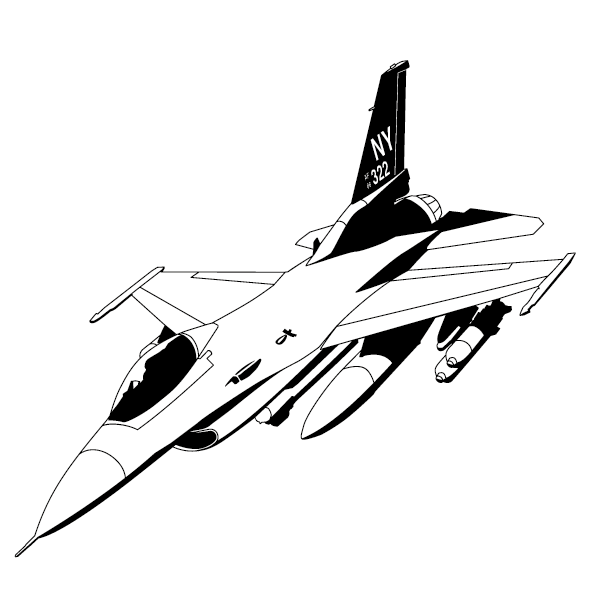 Sticker avion mirage-01